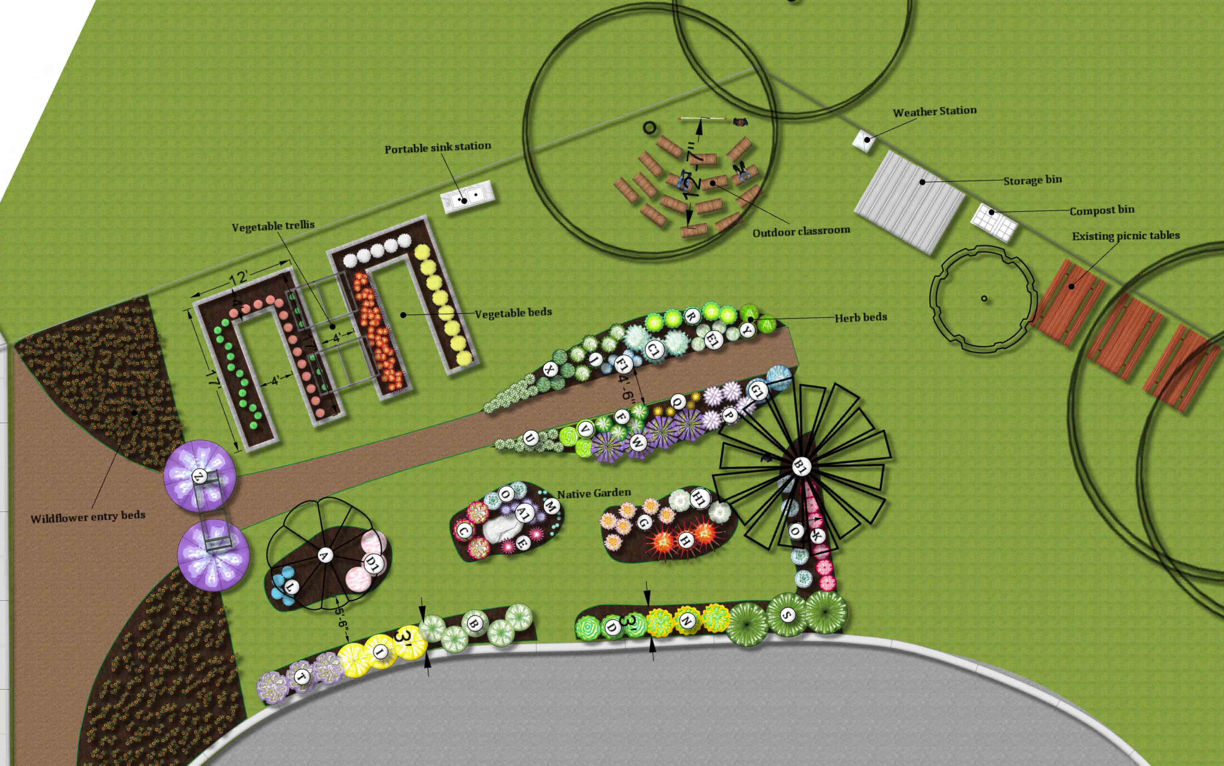 School Garden Design Smart Sprout